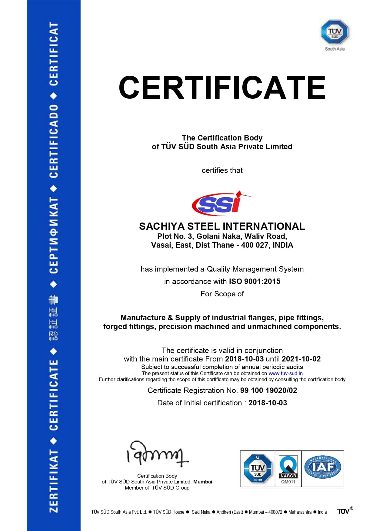 tuv certified fasteners manufacturers 3